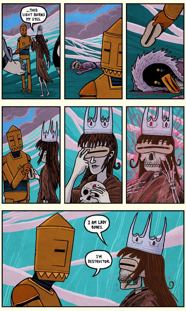 I am Lady Bones
